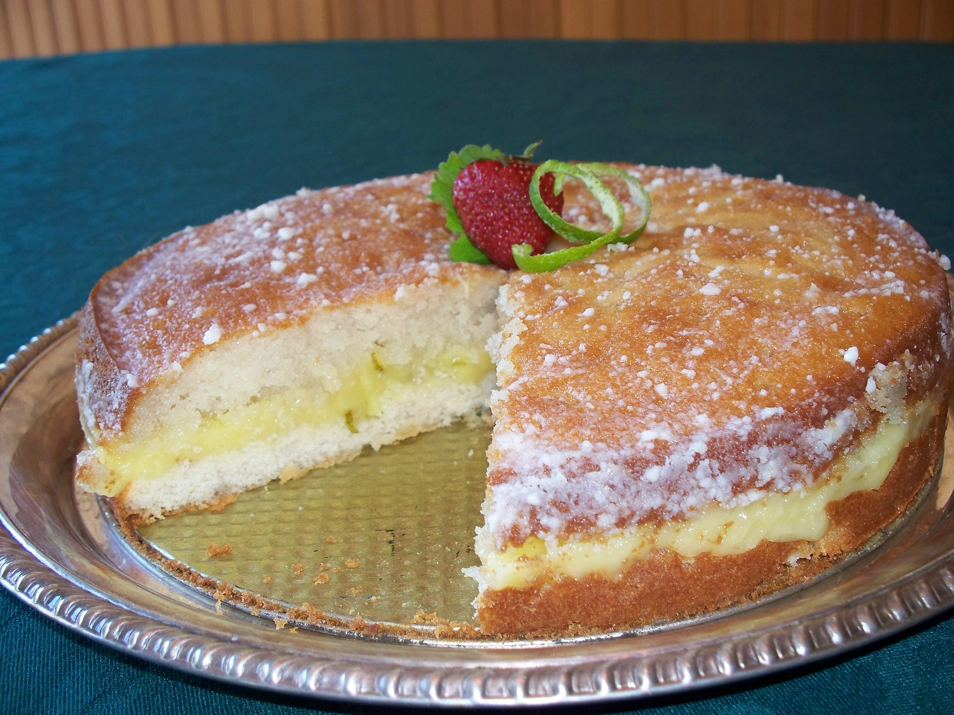 Lime Upon Lime Cake